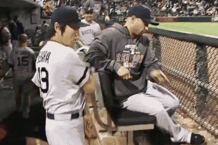 Watch: Uehara Pumped After Inning, Hits Victorino