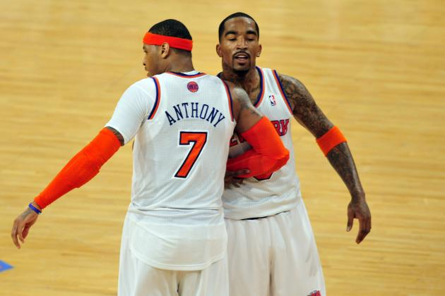 Carmelo Anthony and JR Smith Proved Their Toughness for the NY Knicks