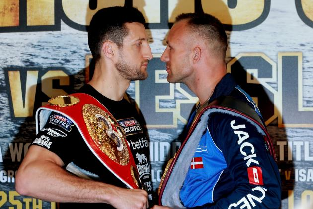 Mikkel Kessler vs. Carl Froch: Fight Time, Date, Live Stream, TV Info and More