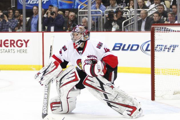 Sens' Anderson to Start in Net vs. PIT in Game 5