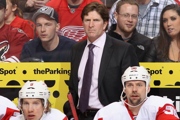 Mike Babcock: Red Wings Can't Be 'Cautious and Careful' in Game 4 Tonight