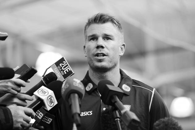 David Warner Fined for Twitter Comments