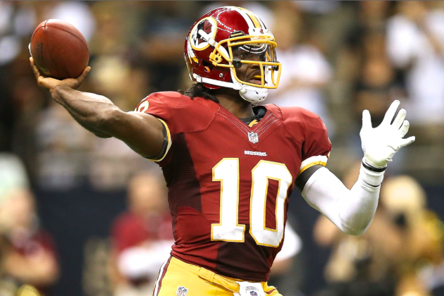 RGIII's Dad Thinks Son Should Run Less