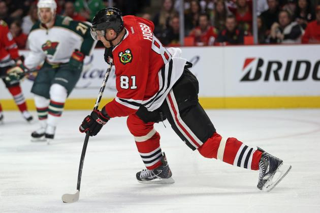 Blackhawks' Marian Hossa Unfazed by Red Wings Fans' Booing