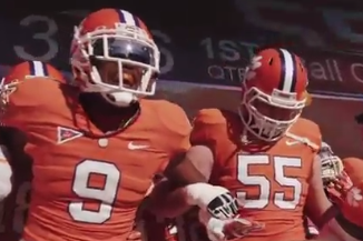 Clemson Video Gives a Great Look at What Its Unique Pregame Experience Is Like