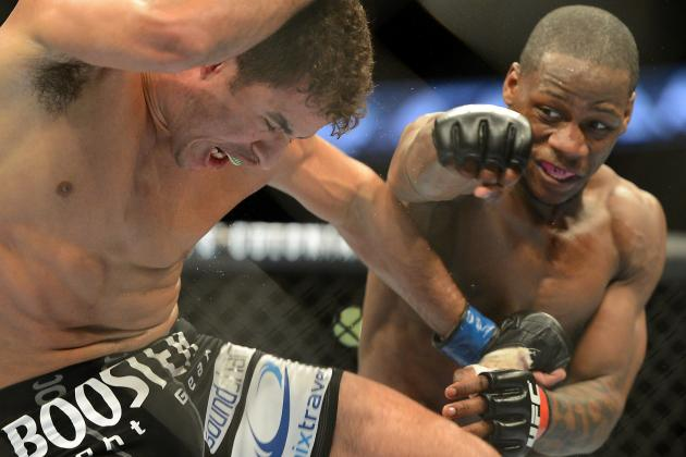 Nah-Shon Burrell Prepared to 'Stand and Bang' with Stephen Thompson at UFC 160