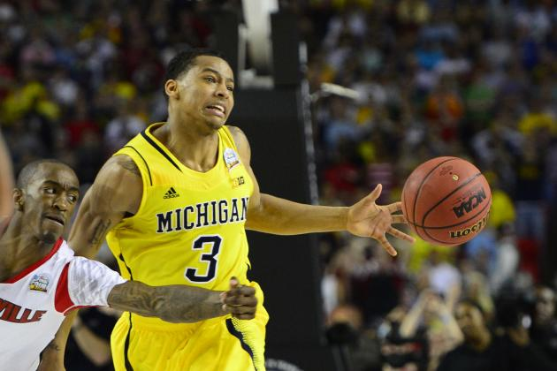 Burke: U-M 'Just as Good' with McGary, Robinson III Leading