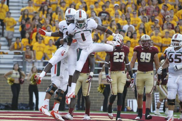 Miami Football: Why 2013 Receivers Could Be Best Since National Title Group