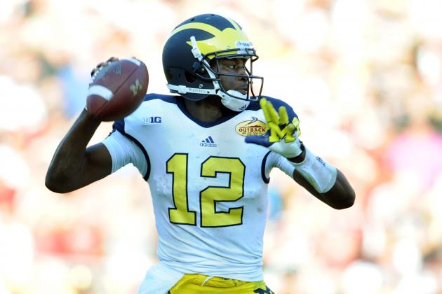 Michigan Football: Ranking Toughest Games on 2013 Schedule