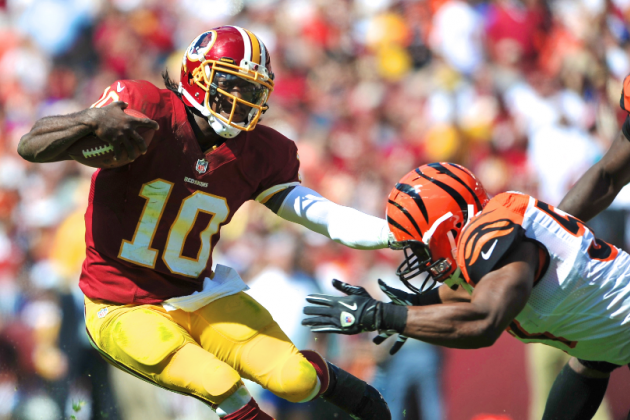 Robert Griffin III's Father Wants Son to Throw More, Run Less