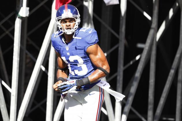 Ramses Barden Signing Won't Alter Hakeem Nicks and Victor Cruz Contract Disputes