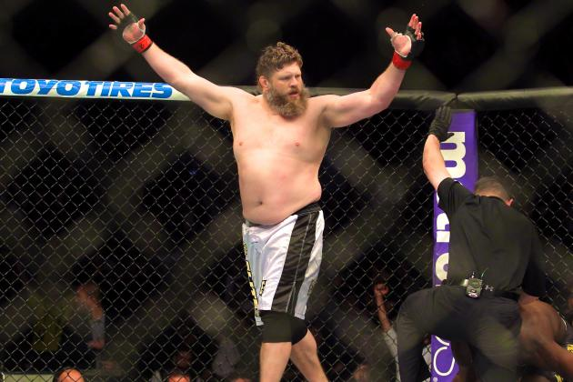 Roy Nelson Says He'll 'Never' Fight for a Title, UFC Wants JDS to Beat Mark Hunt