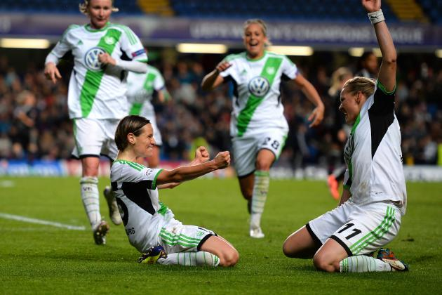 Megan Rapinoe, Lyon Fall to Wolfsburg in Women's Champions League Final