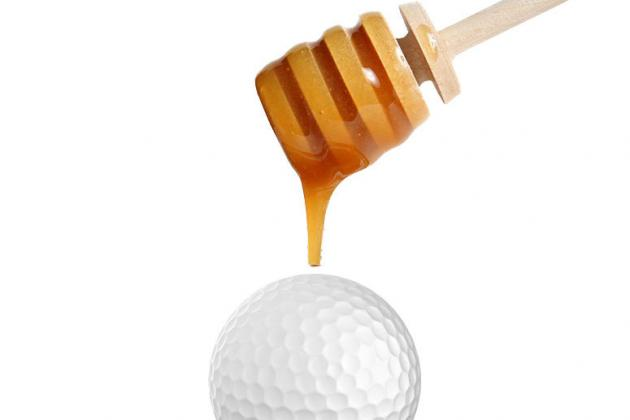 Food in the Center of Golf Balls?