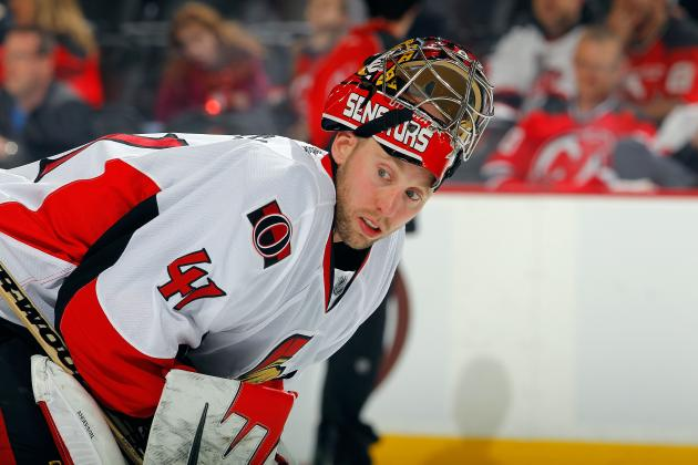Senators Goaltender Craig Anderson Will Start Game 5 Against Pittsburgh