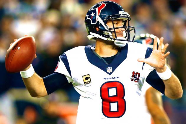 Is 2013 a Make-or-Break Season for Matt Schaub?