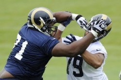 Rams Move 403-Pound Rookie from Defense to Offense