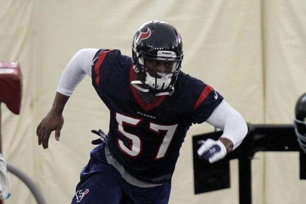 Texans, Rookie OLB Sam Montgomery Reach Deal