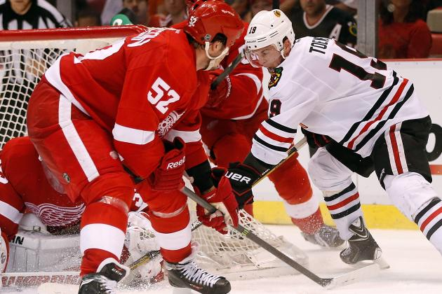 ESPN Gamecast: Blackhawks vs. Red Wings