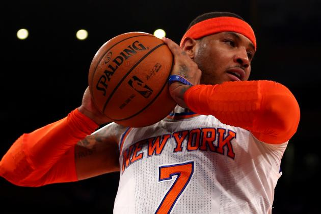 Scoring Title Aside, Carmelo Anthony Doesn't Deserve All-NBA First-Team Nod