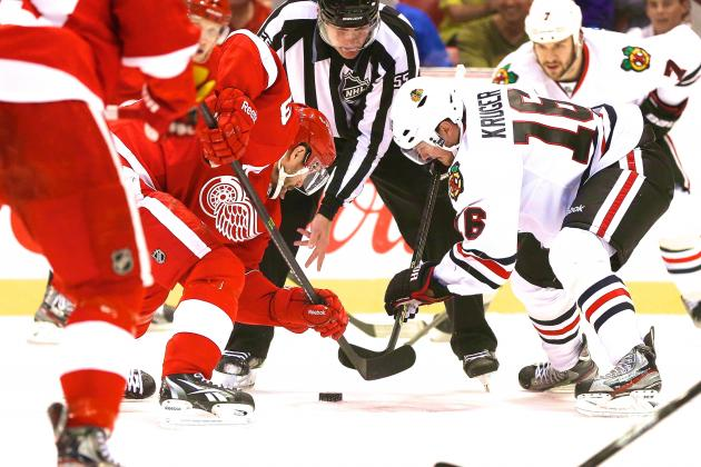 Chicago Blackhawks vs. Detroit Red Wings Game 4: Live Score, Updates & Analysis