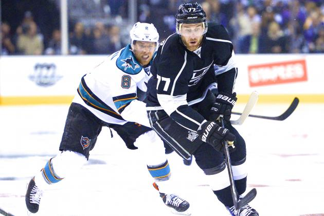 San Jose Sharks vs. Los Angeles Kings Game 5: Live Score, Updates and Analysis