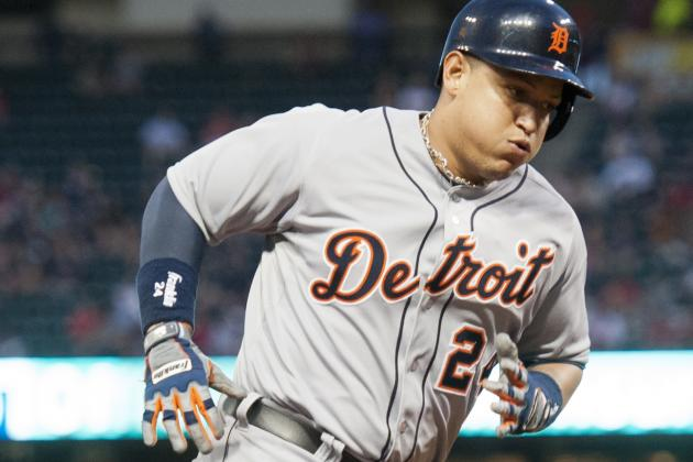 Cabrera Hits HR, Fielder Knocks in Winning Run as Tigers Rally for 7-6 Win