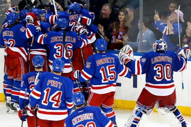 Rangers Stay Alive, Drop B's on Kreider OT Tally