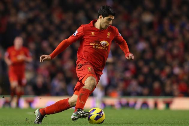 Luis Suarez: How He Really Stacks Up Against Other 2012/13 EPL Stars