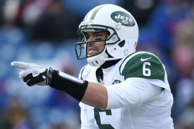 Mark Sanchez Is Not Helping Himself in New York Jets QB Faceoff