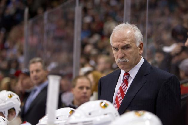Blackhawks vs. Red Wings: Is Joel Quenneville Suddenly Coaching for His Job?