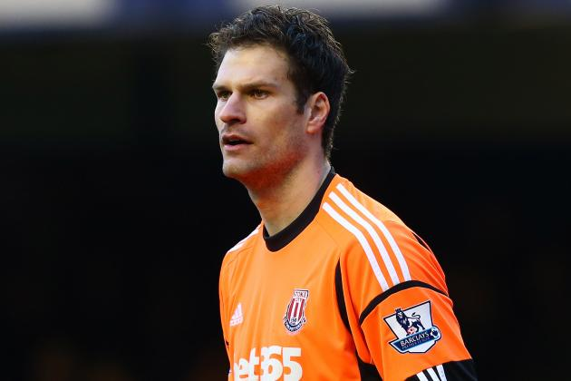 Stoke Dismiss Report Linking Asmir Begovic with Liverpool