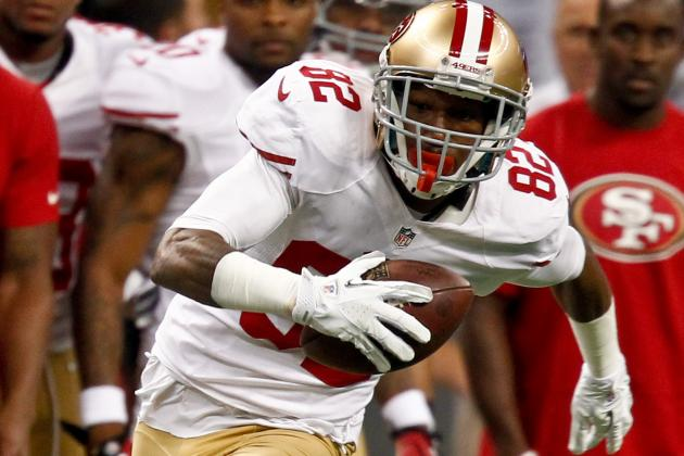 49ers' Mario Manningham on Michael Crabtree Injury