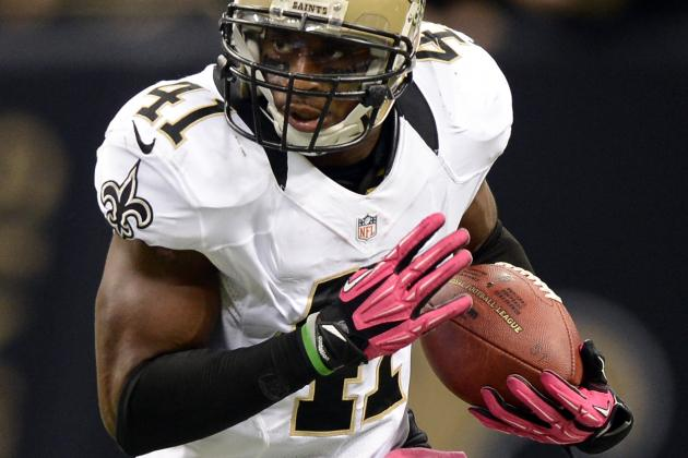 New Orleans Saints Safety Roman Harper Signs Restructured Contract