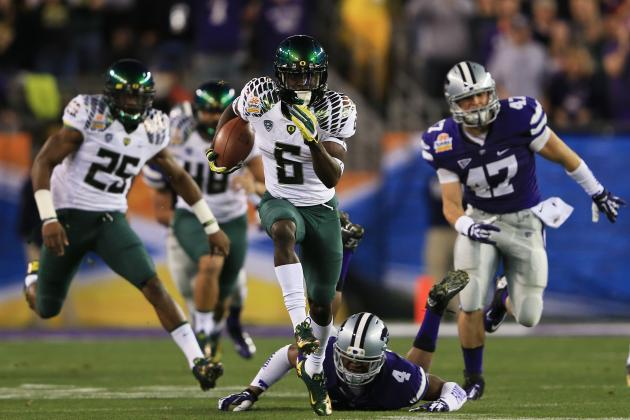 Why Oregon's De'Anthony Thomas Is Best RB Threat to Win 2013 Heisman Trophy