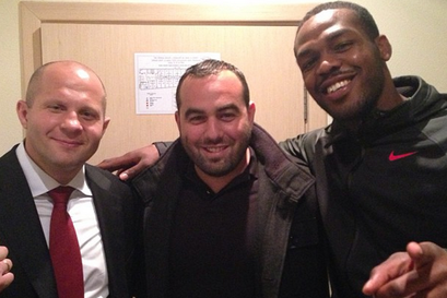 Pic: Jon Jones Meets Fedor Emelianenko in Russia