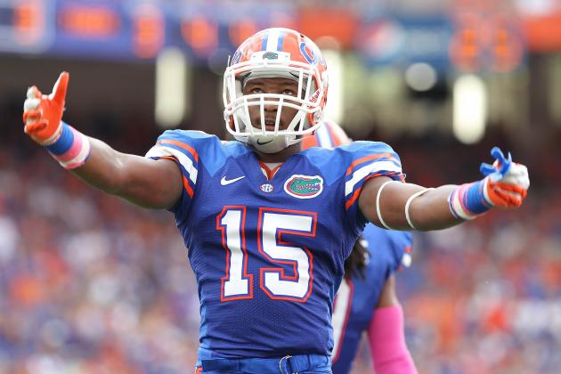 Florida Football: Giving Loucheiz Purifoy Too Many Snaps at WR Would Be a Gamble