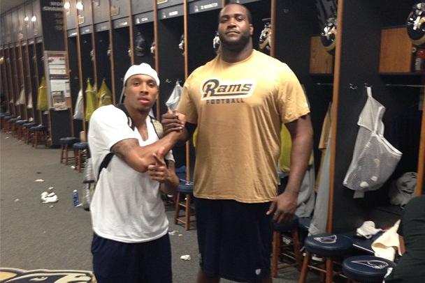 Rams Supersize Offensive Line with 6'10'' Rookie Who Weighs Over 400 Pounds
