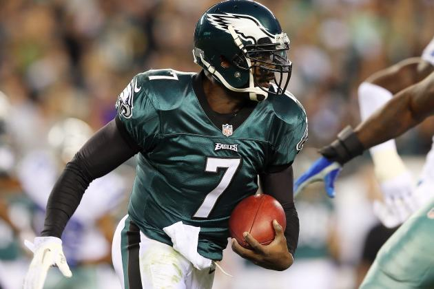 Vick Still Thinks He's the Fastest Quarterback in the NFL