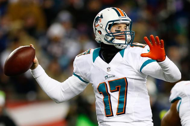 Tannehill Likes the Look of Dolphins Four-Wide Package