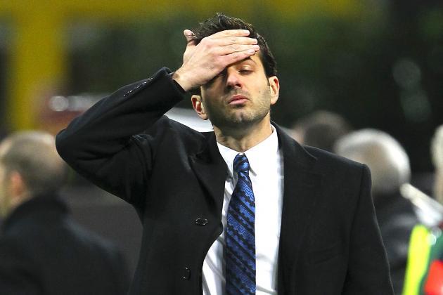 Inter Milan Reportedly Fire Manager Andrea Stramaccioni