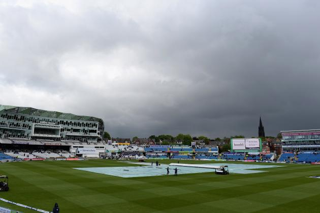 England V New Zealand: Rain Wipes out Opening Day of Second Test