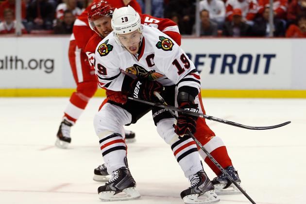 NHL Playoffs 2013: Why Toews Doesn't Deserve All the Blame for Blackhawks Losses