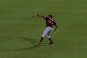 Jameis Winston: Cannon Throw in FSU Baseball Game