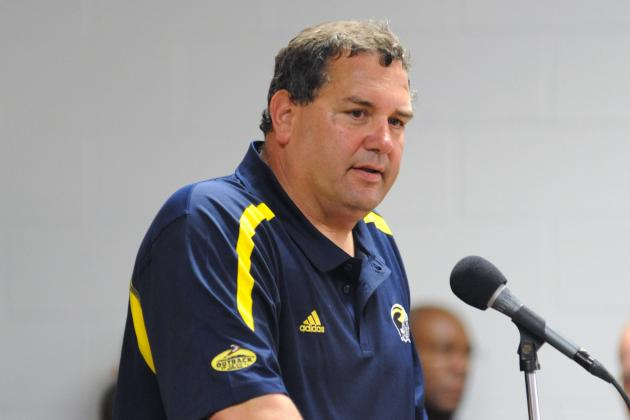 Wolverines' Brady Hoke Didn't Know About 'Not in Ohio' Football