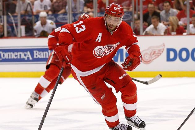 Agent Denies Report Datsyuk Signed with Russian Team