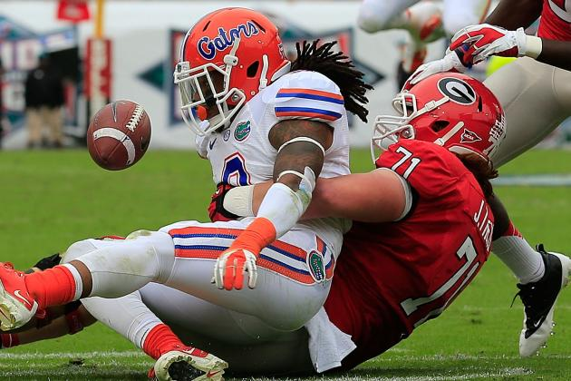 Georgia-Florida Matchup Slated for 3:30 on CBS