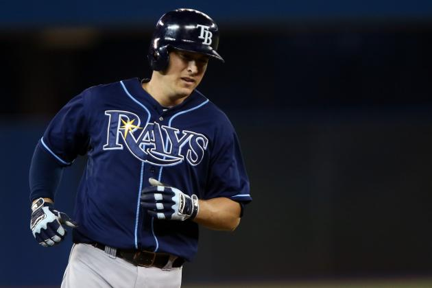 Improved Kelly Johnson Hitting for Rays