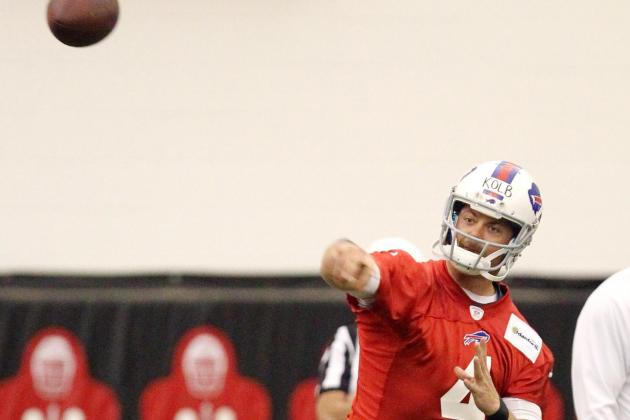 Show and prove: Bills QB Kevin Kolb