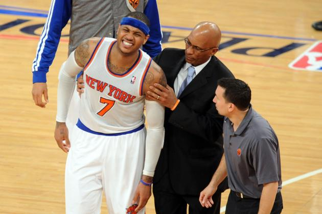 Carmelo Anthony: Playing Through Pain Has Defined Athletes' Careers